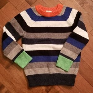 Gap Toddler Striped Sweater WARM 2 years